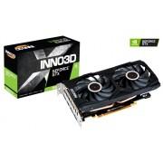 VC, Inno3D GTX1660Ti GAMING OC X2 RGB, 6GB GDDR6, 192bit, PCI-E 3.0 (N166T2-06D6X-1710VA15LB)