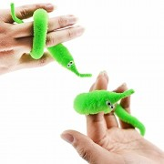 Alcoa Prime 1PCS Magic Twisty Worm Wiggle Moving Sea Horse Kids Trick Games Toys