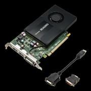 VGA PNY VCQK2200-PB, nVidia Quadro K2200, 4GB 128-bit GDDR5, DP 2x, DVI-I, 12mj