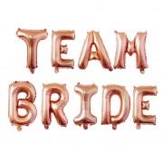 Set baloane folie Team Bride