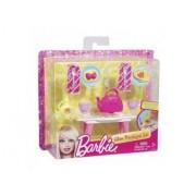 Mattel - Set Table De Cuisine Et Accessoires Maison Barbie