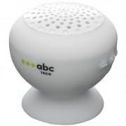 Boxa Portabila Waterproof Cu Microfon Alb ABC TECH