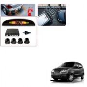 Auto Addict Car Black Reverse Parking Sensor With LED Display For Hyundai Santro