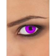Lentes fantasia olho lilás adulto