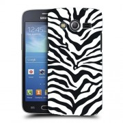 Husa Samsung Galaxy Core 4G LTE G386F Silicon Gel Tpu Model Animal Print Zebra