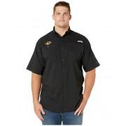 Columbia College Big amp Tall Missouri Tigers Collegiate Tamiamitrade II Short Sleeve Shirt Black