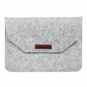Husa plic universala pentru Macbook/tablete 15 inch, gri
