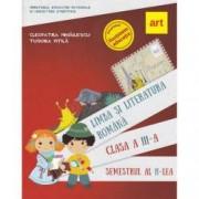 Limba si literatura romana. Manual pentru Clasa a III-a Semestrul al II-lea + CD