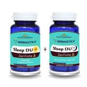 Sleep Duo Am/Pm Zen Forte 30+30cps Cutie Herbagetica