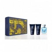 Versace Pour Homme Kit - Eau de Toilette 50ml + Gel doccia 50 ml + dopobarba 50ml