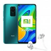 Xiaomi Pack Redmi Note 9 3GB/64GB 6,53'' Verde + Mi Ear Auriculares