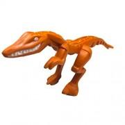 "Lego Parts: Animal, Dinosaur ""Dino Mutant Lizard Dark Orange with Yellow Specks on Back"""