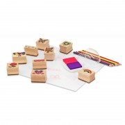 Set de stampile Prietenie, Melissa and Doug