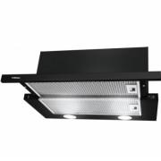 Аспиратор HANSA OTP 6241 BH, 140 W, Метални филтри, Халогенно осветление