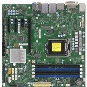 SUPER MICRO Supermicro X11SCQ - Moederbord - Micro-ATX - LGA1151 - Q370 - 2x Gb LAN - 6x SATA, M.2