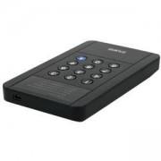 Кутия ZALMAN ZM-SHE350 за твърд диск 2,5 инча с хардуерно криптиране и защита, ZM-SHE350_VZ
