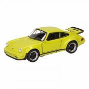 Speelgoed groene Porsche 911 Turbo auto 12 cm