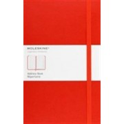 Moleskine Classic Desk Address Book, Large, Red, Hard Cover (5 X 8.25)