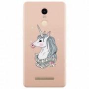 Husa silicon pentru Xiaomi Remdi Note 3 Cute Rose Gold
