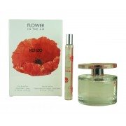 KENZO FLOWER IN THE AIR EDP 100 ML + EDP 15 ML TRAVEL SET