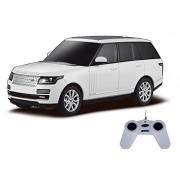 Toyhouse Officially Licensed Rastar Range Rover 1:24 Scale Model Car, White
