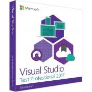 Visual Studio Test Professional-abonnement (verlenging)