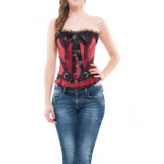 INTIMAX - CORSET BARBARA GRANATE S