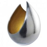 Vas decorativ din metal finisaj lucios EH-IZARRA-S Small EN