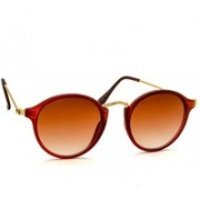 Stacle Round Sunglasses(Brown)