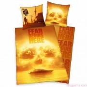 FEAR THE WALKING DEAD 2 részes ágynemű-garnitúra 135x200+80x80 cm
