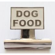Dog Food Bulldog Clip