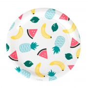 My Little Day Assiettes - Fruits Exotiques (x8)