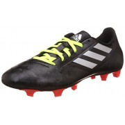 adidas Men's Conquisto Ii Fg Cblack, Silvmt and Solred Football Boots - 9 UK/India (43.3 EU)