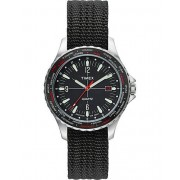 Timex Navi World Time 38mm Steel/Black Dial