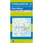 Fietskaart 27 Cykelkartan Östra Mälaren   Norstedts