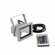 EuroLite LED IP FL-10 COB RGB 120° FB 10W RGB COB IP 65 Fluter, 120°