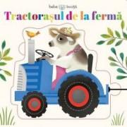 Tractorasul de la ferma. Bebe invata-puzzle