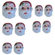Christmas Plastic Mask For Kids For Younger s Pack Of 10