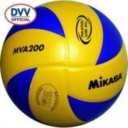 mikasa Volleyball MVA 200 (gelb/blau) - 5