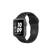 Smartwatch Apple Watch Nike+ Series 3 GPS, 42mm, Carcasa Space Grey Aluminium, Bratara Anthracite/Black Nike Sport Band