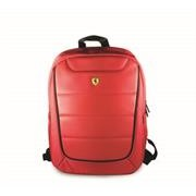 Ferrari Scuderia Pit Stop On Track Collection Stylish Universal Backpack - Suitable for Laptops up to 15.6 inch