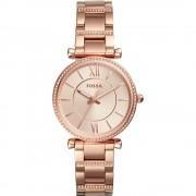 Fossil ES4301 Carlie horloge