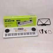 61 teclas Piano teclado electrónico juguete niños - BF-730D-1 Plata