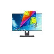 Monitor LED Quad HD IPS 27 Widescreen Dell U2717D Prata com tela infinita