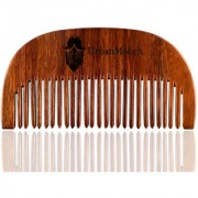 UrbanMooch Shisham Wood Beard Comb