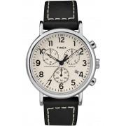 Ceas barbatesc Timex TW2R42800 Quartz Chronograph Elite Weekender