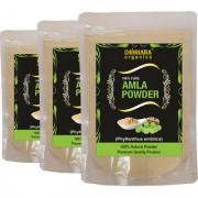 Donnara Organics 100% Natural Amla Powder Combo pack of 3 of 150 gms(450 gms)