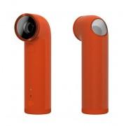 HTC RE Action Camera - водоустойчива екшън камера за заснемане на любимите ви моменти (оранжев)