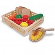 Joc din lemn alimente de feliat
