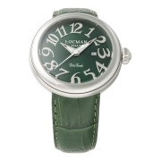 【68%OFF】ラウンドウォッチ デイト表示 ケース:グリーン ベルト:グリーン ファッション > 腕時計~~メンズ 腕時計